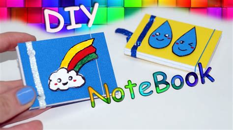 easy picture books diy kawaii notebooks ideas for school diy mini