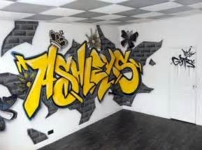 Alphabet Wall Mural graffiti interior design graffiti art design graffiti