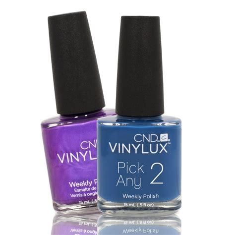 vinylux colors choose 2 colors cnd vinylux lacquer weekly