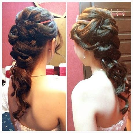 hairstyles for dinner party styling braids for dinner easy hair style for long hairs