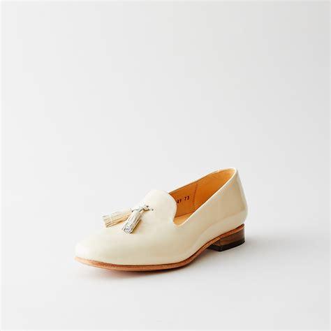 dieppa restrepo loafer dieppa restrepo gaston tassel loafer in white lyst