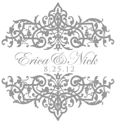 design free wedding logo pin wedding monogram for erica monograms by bellus designs