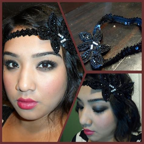 do it yourself hairstyles gatsby you tube 1920 s flapper tutorial diy vintage inspired headband