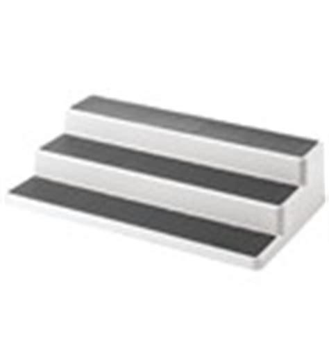kitchen cabinet shelf risers interdesign sugar and condiment packet holder in shelf