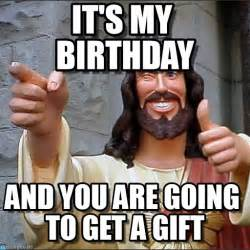 Jesus Birthday Meme - it s my birthday jesus meme on memegen