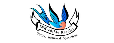 inkredible results tattoo removal logo design cheap