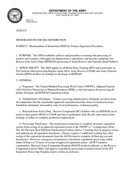 us army memorandum for record template 7 memorandum for record template memo formats