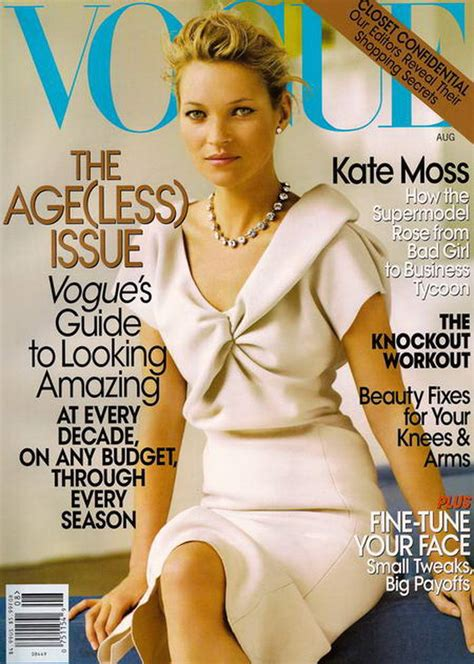 Cbell Kate Moss On The Cover Of Vogue February 2008 by Kate Moss Us Vogue August 2008 Stylefrizz
