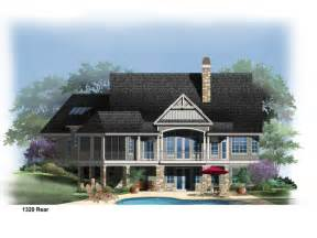 house plans walkout basement lake with and more basements