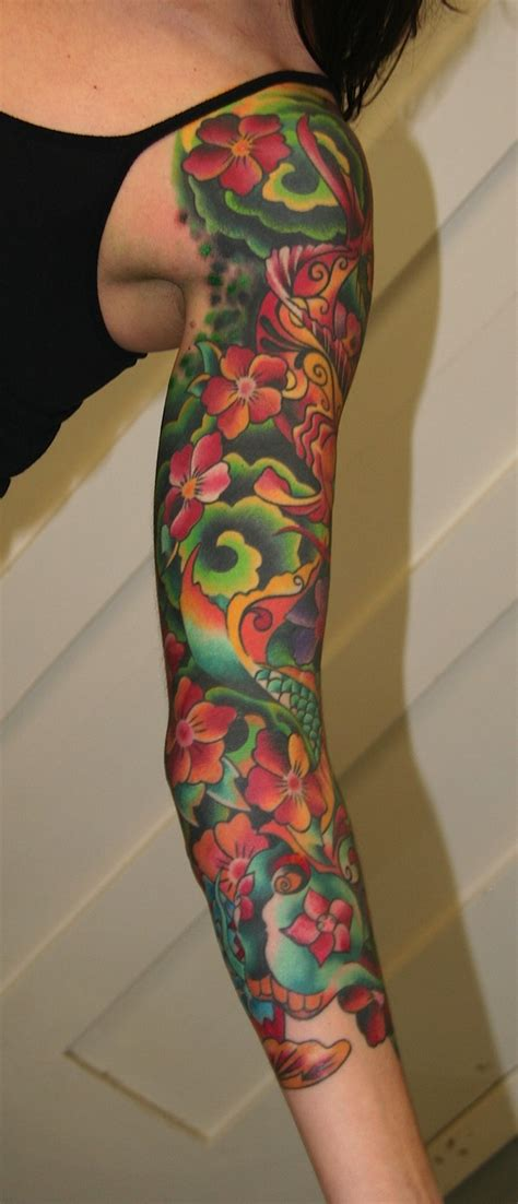 latest girls sleeve tattoos designs wallpapers pictures