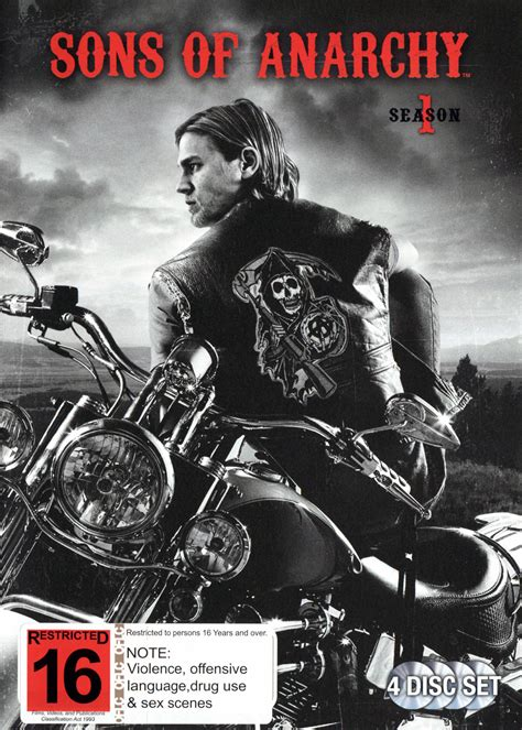 season 1 sons of anarchy sons of anarchy season 1 4 disc set images 1 of 2 at