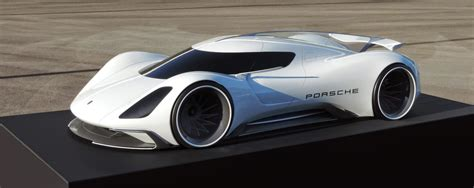 electric porsche supercar porsche electric le mans 2035 prototype looks believable