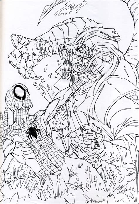 lizard man coloring pages lizard from spider man coloring pages printable lizard