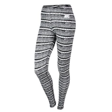 Jumpsuit Warna Hitam Legging Nike As Nike Leg A See Aop 616053 022 Dengan Motif
