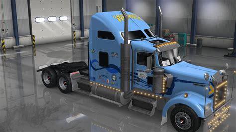 trucking companies with kenworth w900 d logistics werner trucking kenworth w900 skin