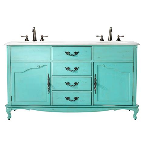 62 double bathroom vanity home decorators collection provence 62 in w x 22 in d