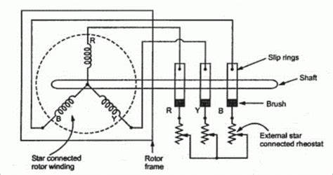 wiring diagram of 3 phase induction motor diagram