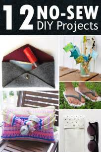 sew for home 12 easy no sew diy projects