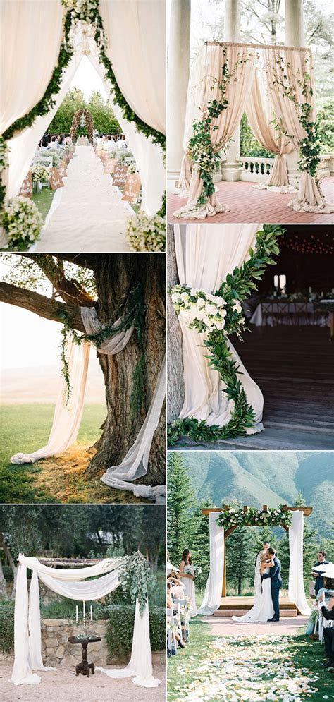 Wedding Arch Between Trees by Decorations Archives Oh Best Day