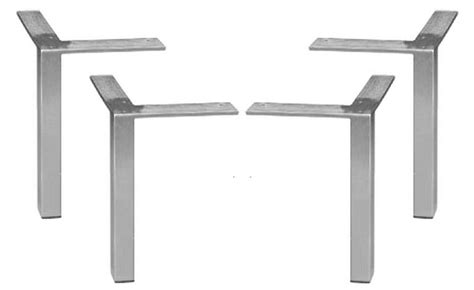 metal work table legs square legs for furniture roselawnlutheran