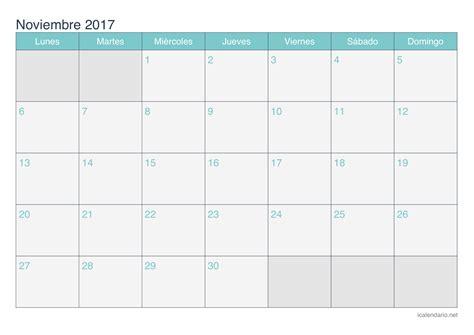 Calendario Noviembre 2017 Para Imprimir Icalendario Net | calendario noviembre 2017 para imprimir icalendario net