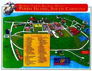 Mcrd San Diego Map by Parris Island Map Parris Island Map Paris Island