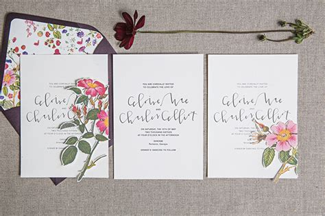 Pretty Wedding Invitations by Pretty Paperie 101 Inspiring Wedding Invitations