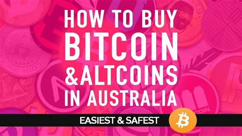 Buy Bitcoin Australia how to buy bitcoin and altcoins in australia for beginners