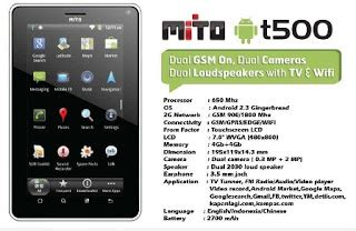 Tablet Mito Dibawah 1 Juta mito t500 tablet android harga dibawah rp 1 1 juta