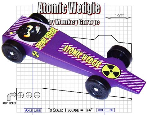 Derby Monkey Garage Templates plans to build wood derby car designs pdf plans