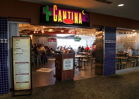 Grill Press Intl cantina grill denver international airport