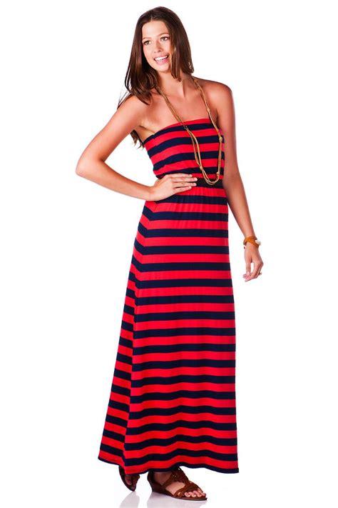 Maxi Stripe Fransisca palm grove striped maxi dress s