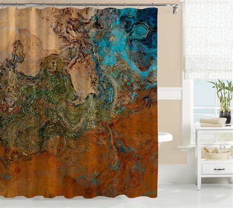southwest design shower curtains abstract art shower curtain southwest from abstract art home