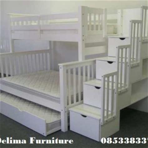 Ranjang Dan Bed ranjang susun anak tempat tidur tingkat 3 bed harga