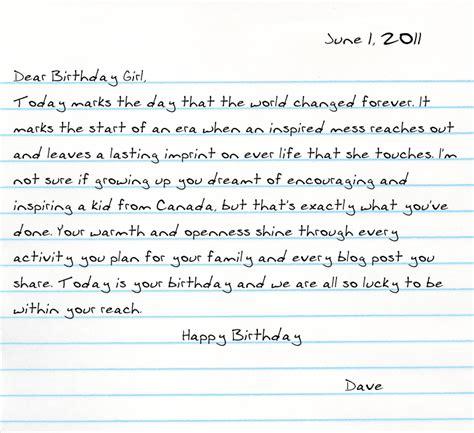 Contoh Surat Pribadi Bahasa Inggris Tentang Ulang Tahun by Contoh Surat Pribadi Dalam Bahasa Inggris Contohsuratmu