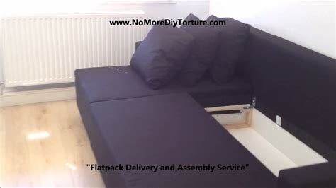 ikea lugnvik sofa bed ikea lugnvik corner sofa bed with storage youtube