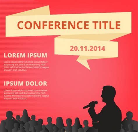 6 conference event flyers psd pdf vectors eps pdf