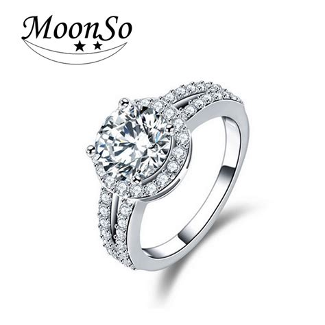 aliexpress buy moonso 925 sterling silver rings 3
