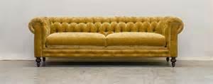 Gold Chesterfield Sofa Gold Velvet Chesterfield