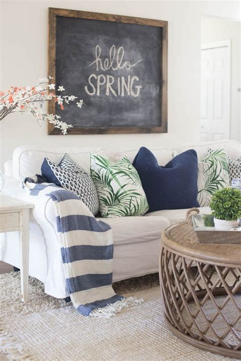 spring decor 2017 living room spring decorating inspiration and ideas