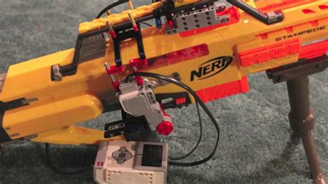 nerf remote tank lego mindstorm nerf gun remote