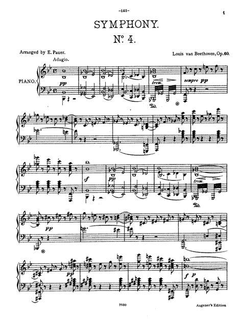 beethoven symphony 7 beethoven symphony 7 allegretto piano sheet music pdf