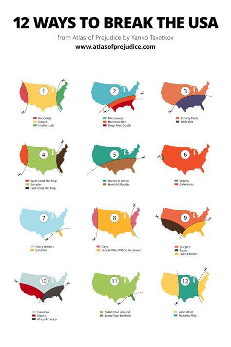 New Der One Way 4 Warna atlasofprejudice 12 ways to the usa an maps