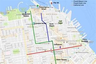Trolley Map San Francisco by Ride A San Francisco Cable Car What You Need To Know