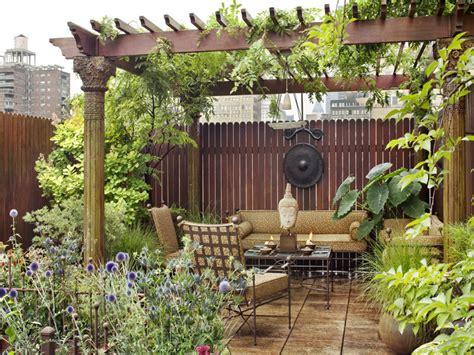 amazing eastern style rooftop terrace garden    york