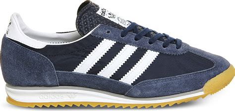 Trussardi Sneaker Navy White Original adidas originals sl 72 in blue for lyst