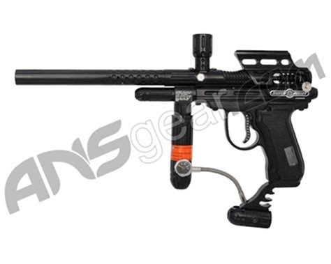 psycho ballistics silver bullet lcd paintball gun black