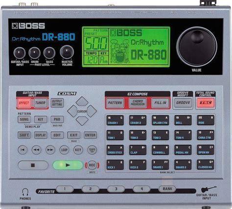 midi drum pattern library boss dr 880 dr rhythm drum machine long mcquade