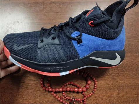 detailed look at the nike pg 2 okc home sneakers cartel
