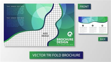 how to layout a brochure in illustrator illustrator tutorial tri fold brochure design youtube